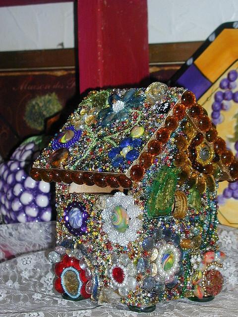 Совершенный домик из бисера